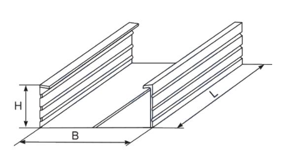 lubų profilis